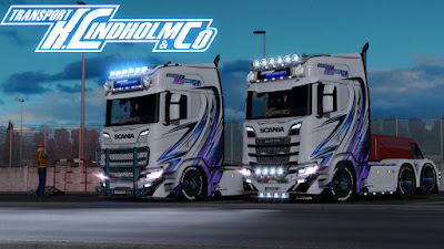 Transport K Lindholm & Co Paintjobs