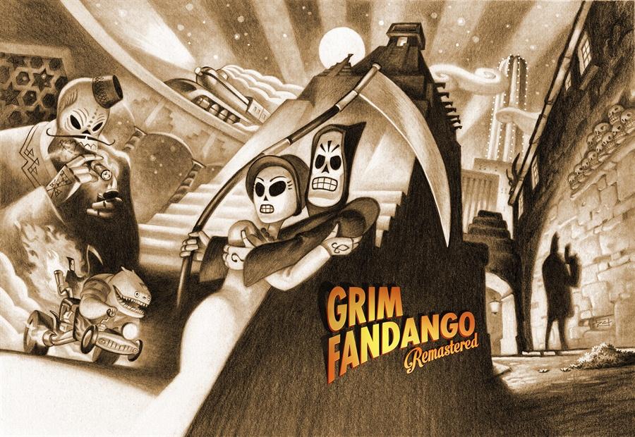 Grim Fandango Remastered Download Poster