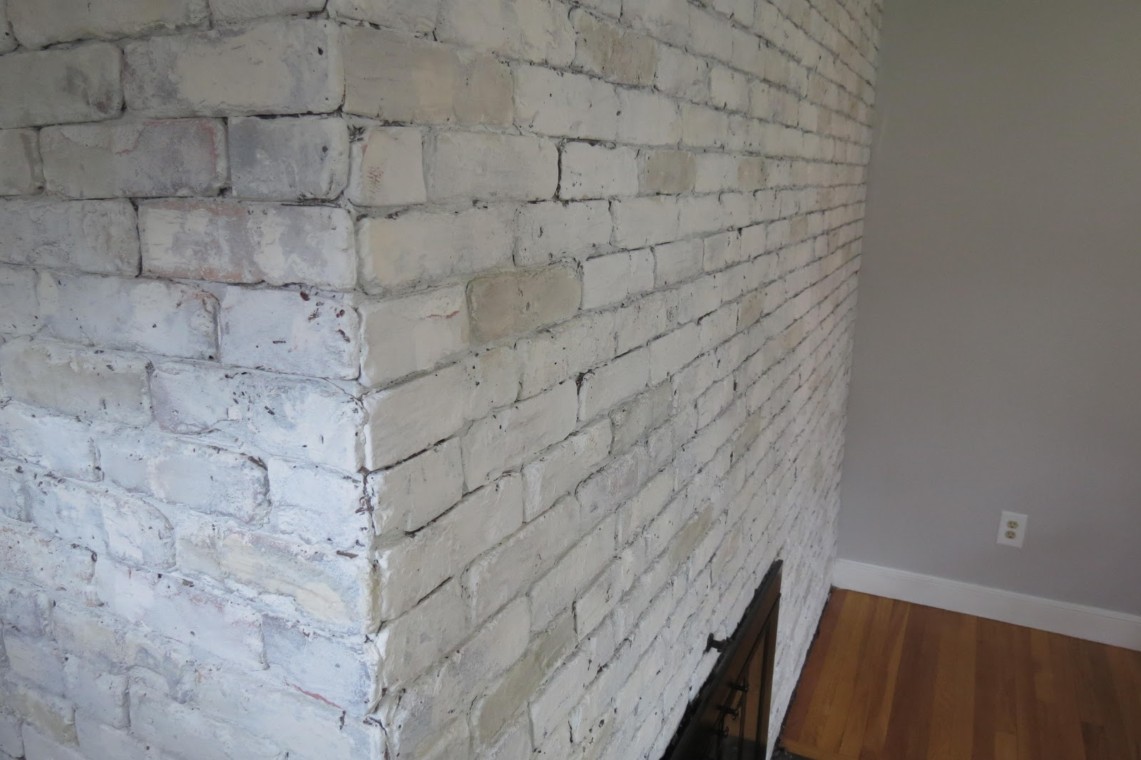 while i linger brick u0026 brass fireplace makeover in a day