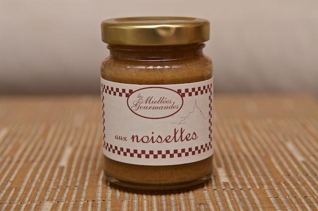 Miellée Gourmande aux Noisettes - Les Ruchers de la Baie du Mont Saint-Michel