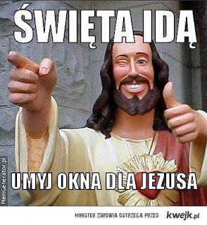 umyj okna dla jezusa