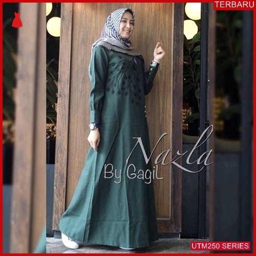 UTM250N73 Baju Nazlan Muslim Maxi UTM250N73 0FA | Terbaru BMGShop
