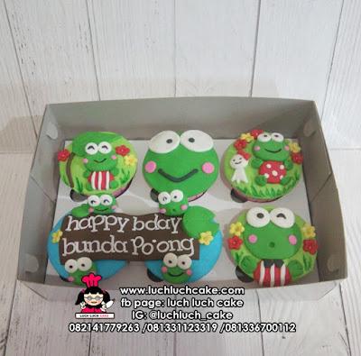 Cupcake Fondant 2d Keropi