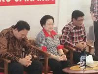Usai Diceramahi, Ahok Kabur Tinggalkan Megawati