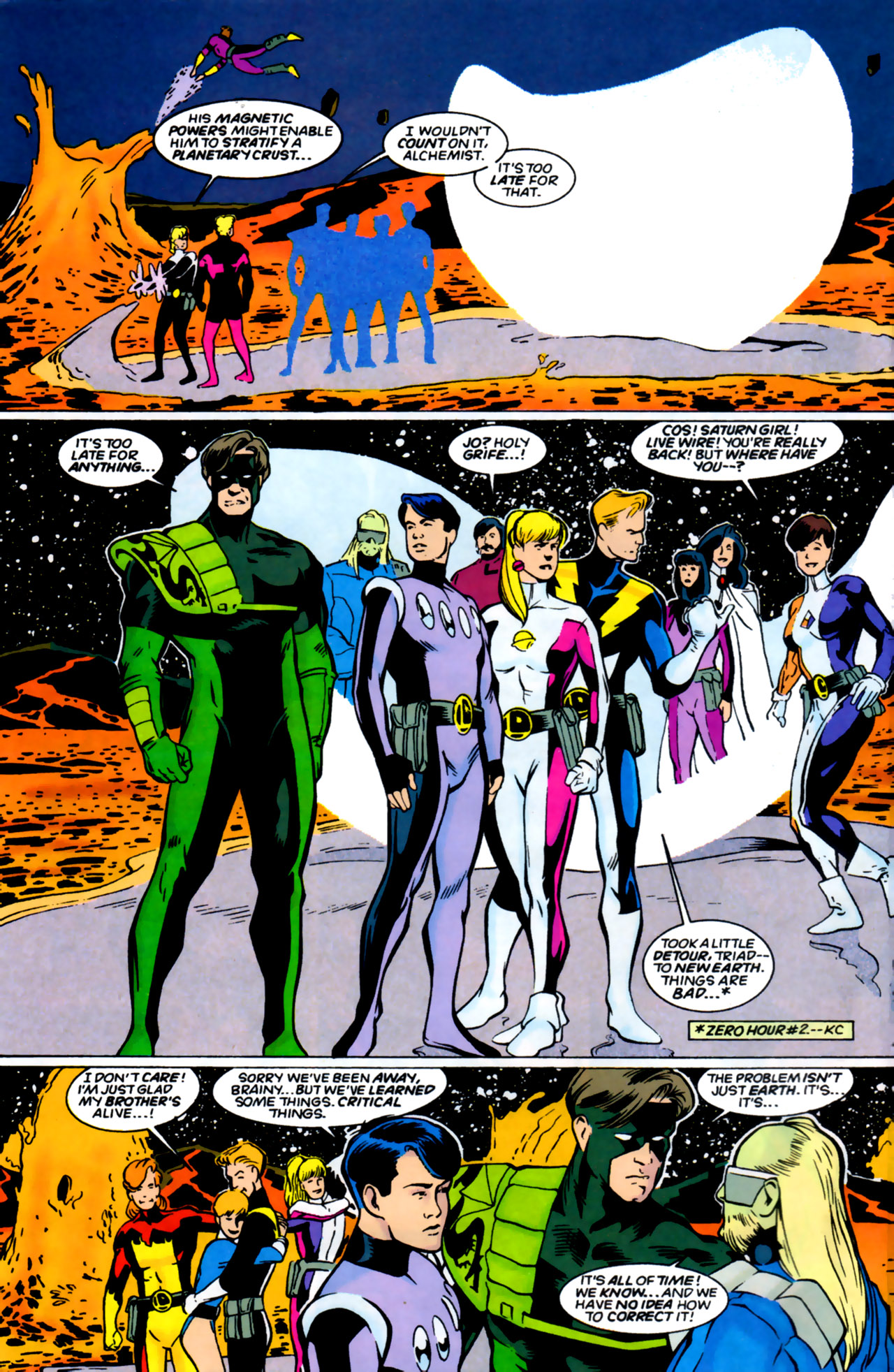 Legion of Super-Heroes (1989) 61 Page 4