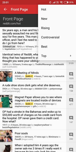 10 Des Meilleures تطبيقات Reddit للهواتف الذكية Android و