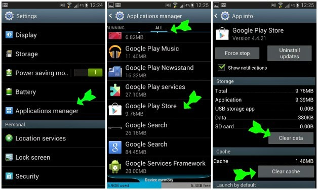 How to fix error 403 google play android | Android