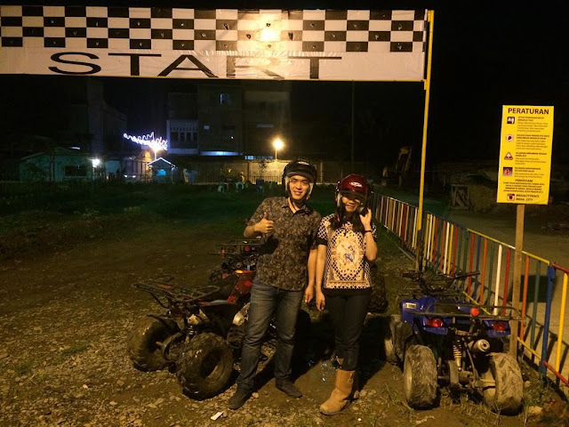 NYOBAIN ATV MEGA CITY RACE DI KOMPLEK MEGA CITY TEMBUNG