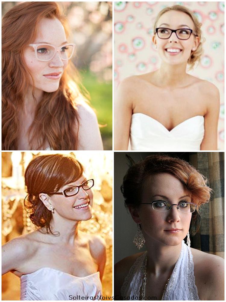 Noivas de óculos