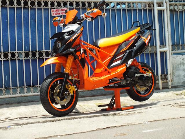 Kelebihan dan Kekurangan Motor Matic Yamaha X-Ride