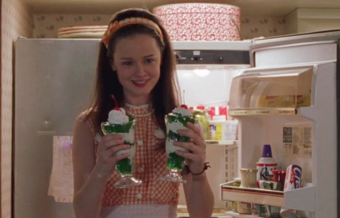 Lime Fantasy Supreme on Gilmore Girls