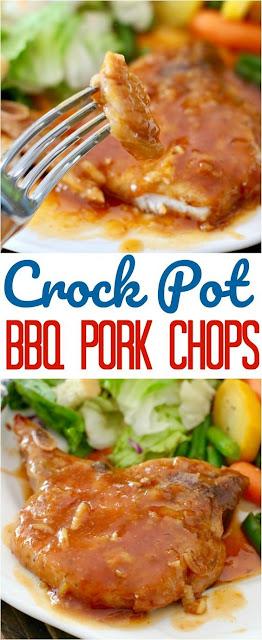 CROCK POT BBQ PORK CHOPS