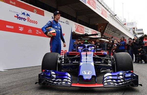 Toro Rosso STR13 Fórmula 2018