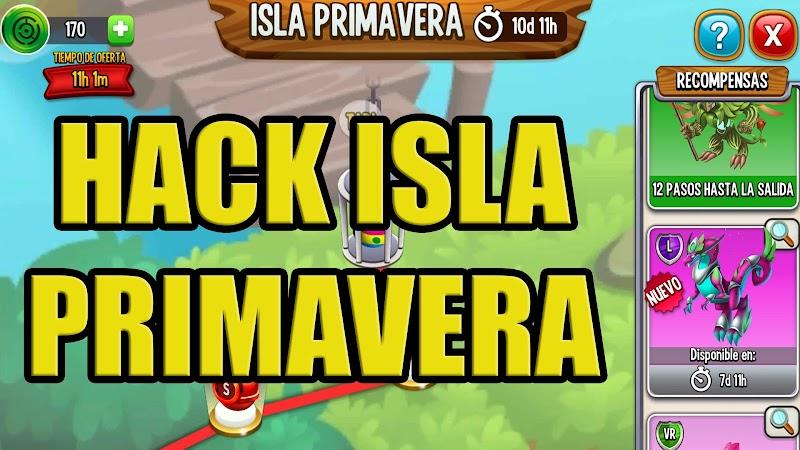 HACK DE COMIDA ISLA PRIMAVERA  - TEMPORAL