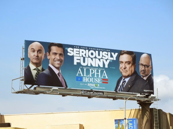 Alpha House Seriously Funny Emmy 2014 billboard