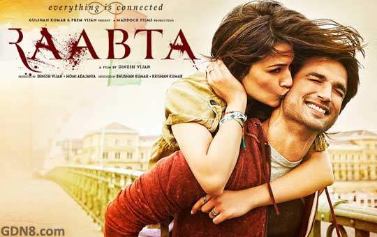 Raabta Hindi Movie - Sushant Singh Rajput
