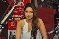 Tanya Hope in a whtie shirt and leggings at Song launch of Movie Patel Sir ~  Exclusive Celebrities Galleries 066.JPG