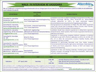 Alembic Pharma baroda