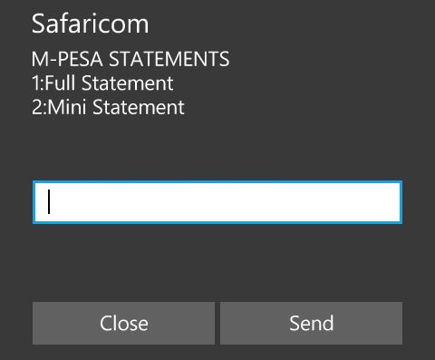 5 Different Ways to Get Your M-PESA Mini or Full Statements