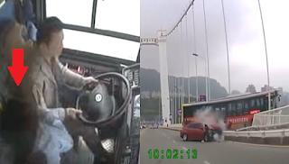 Βίντεο αποκαλύπτει την απίστευτη αιτία τρομακτικού δυστυχήματος στην Κίνα