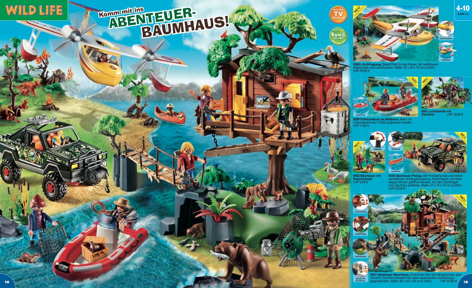Les nouveaut s playmobil 2015 en attendant 2016 klerelo for Acheter cabane dans les arbres