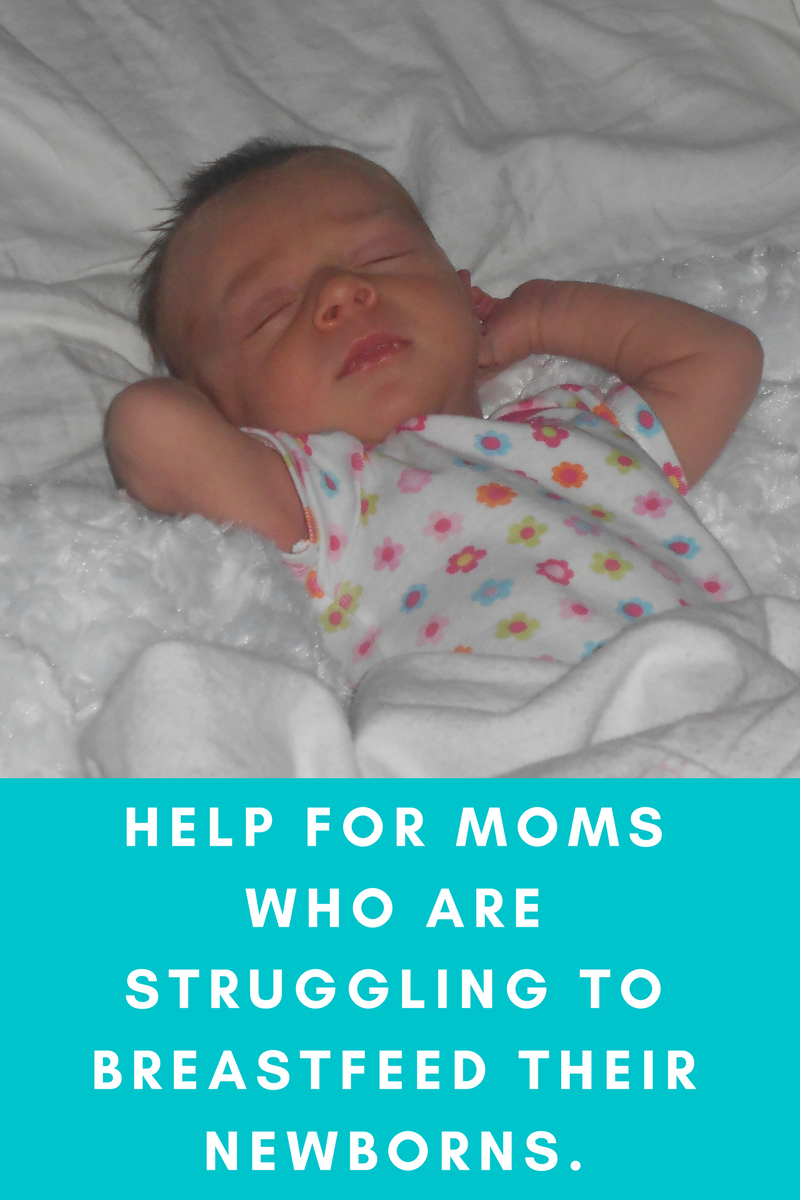 Tips For New Moms Struggling With Breastfeeding