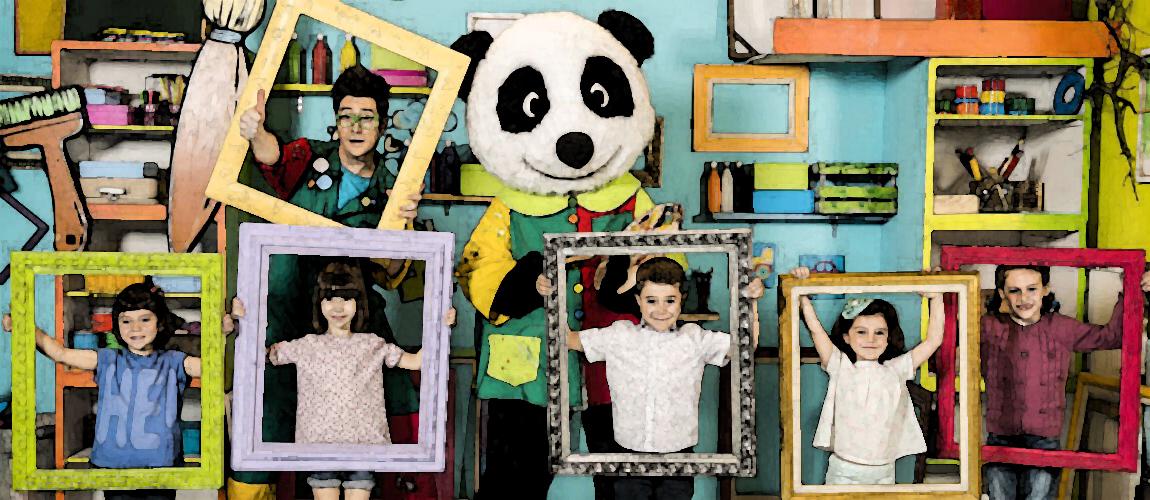 TELECINELIBROS: A Cuadros - Canal Panda (TELE)
