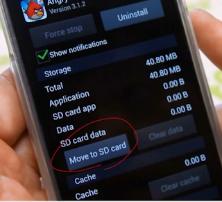 Aplikasi Android ke SD Card