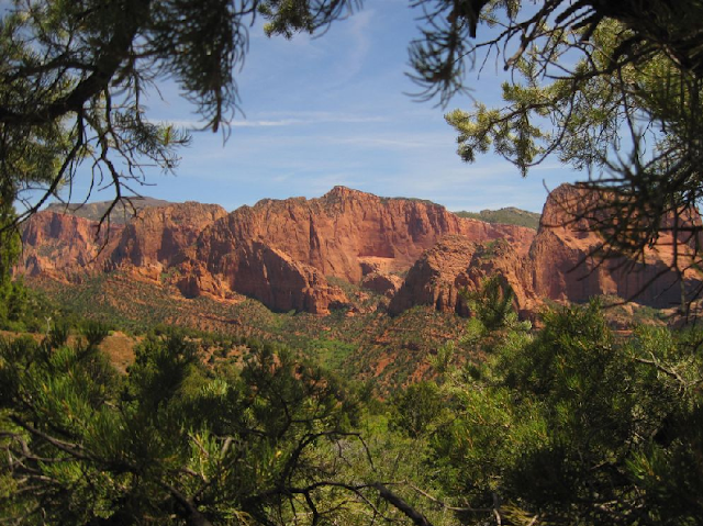 Kolob Canyons no Zion National Park em Las Vegas