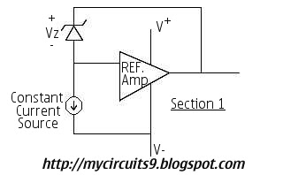 FUNCTIONAL BLOCK DIAGRAM IC 723 | MyCircuits9