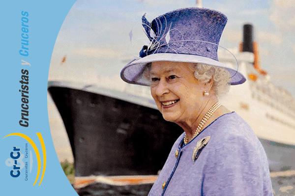 Cunard Line homenajea a la reina Isabel II como anfitriona de la compañía