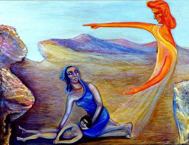 AGAR (esclave de Sarah et Abraham) de Suzanne Clairac dit Giffi