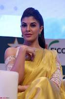 Gorgeous Jacqueline Fernandez  in yellow saree 27.JPG