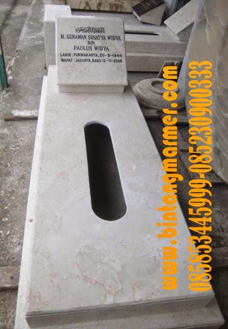 Jual makam Marmer