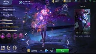 how to use Selena Mobile Legends