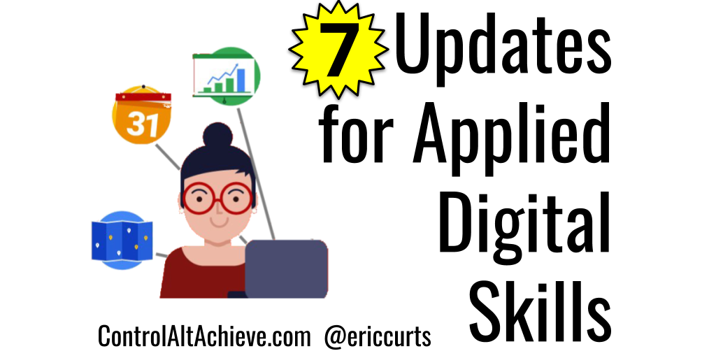 7 Back to School Updates for Google's Applied Digital Skills Curriculum