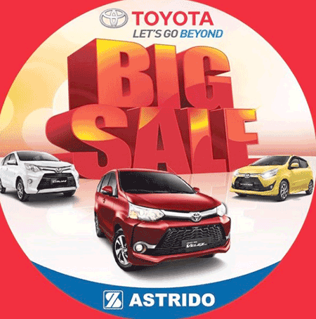 Promo Mobil Toyota Mudik Lebaran 2018