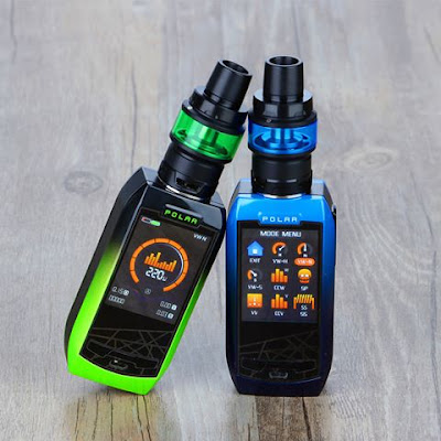 2018 Safest High Power Kit| Vaporesso Polar 220W TC Kit