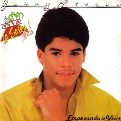 Foto de Jerry Rivera en portada de disco