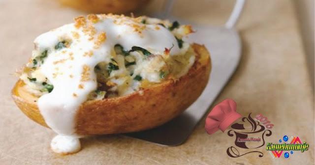 Patatas Rellena de Bacalao