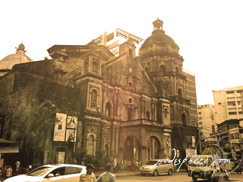 Photo of the entrance of Binondo Church