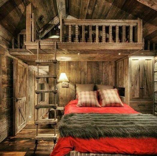 model kamar tidur unik terbaru
