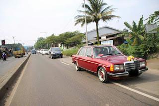 PASAR MERCY KLASIK : Dijual Mercy Tiger 200 W123 Tahun 81 - JAKARTA