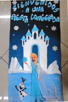 Moldes de Princesa Elsa en pdf para descargar gratis