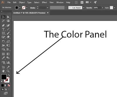 Color Panel   Adobe Illustrator