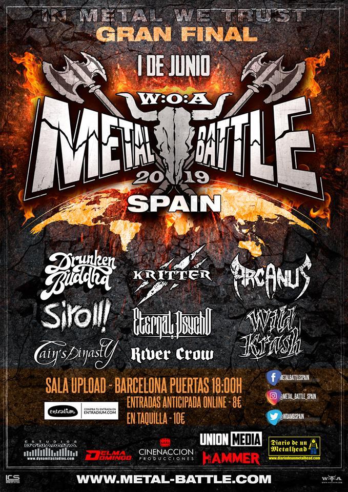 FINAL WOA METAL BATTLE SPAIN