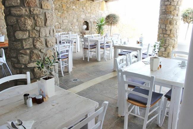Rocabella Mykonos Art Hotel & SPA dorucak