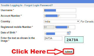 how to reset sbi online banking password using atm