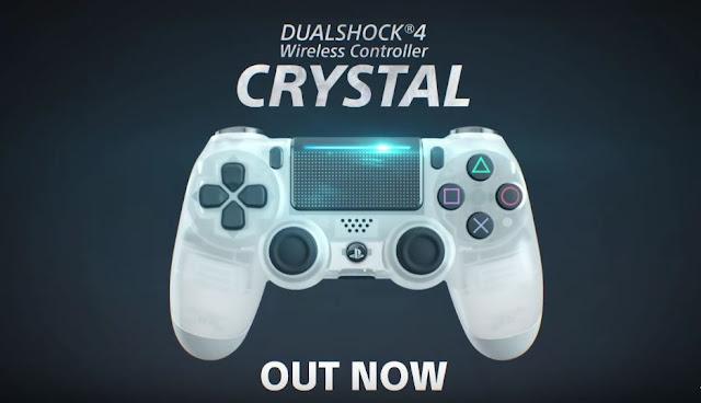 يد التحكم Crystal DualShock 4 لجهاز PS4 أصبحت متوفرة الأن