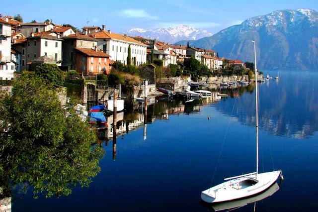 Классная работа в Италии на озере Комо.